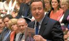 Prime Minister David Cameron at his last Prime Minister's Questions