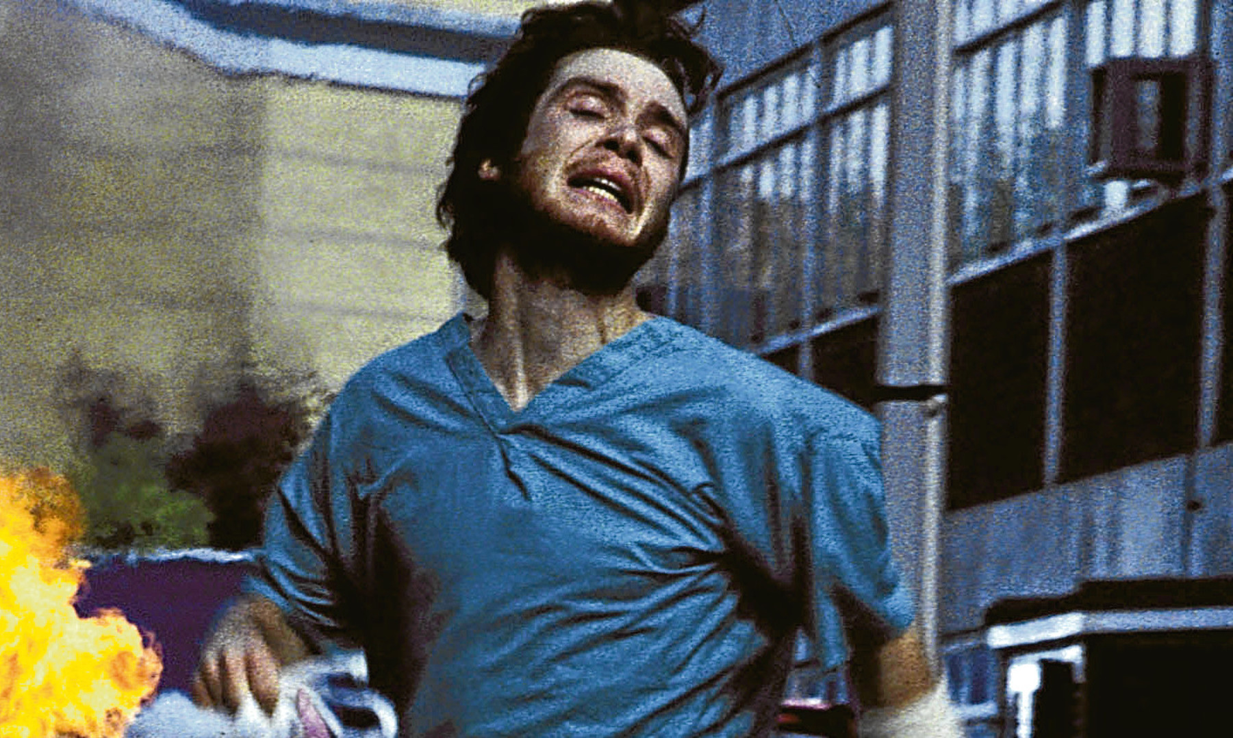 Cillian Murphy in 28 Days Later, which scared Mike so much he felt physically ill.