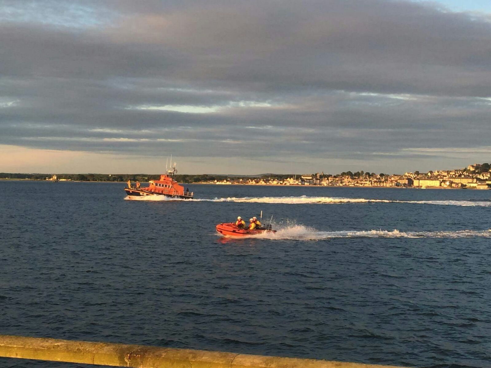 Broughty Ferry lifeboat.
