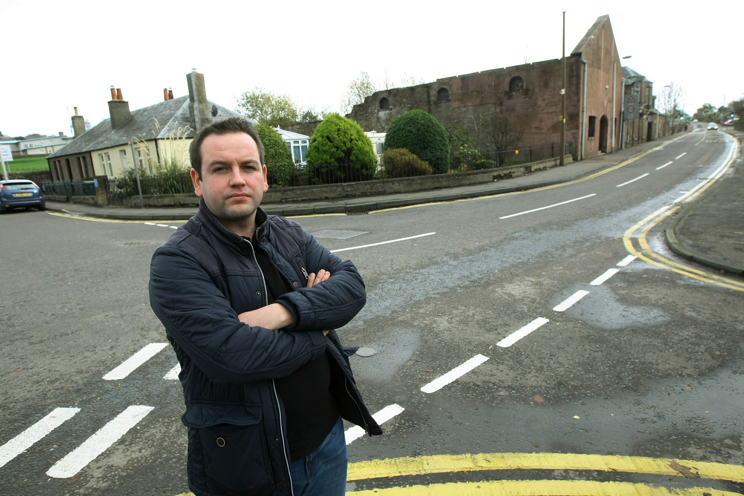 Craig Finlay, one of just two community councillors left in Crieff.