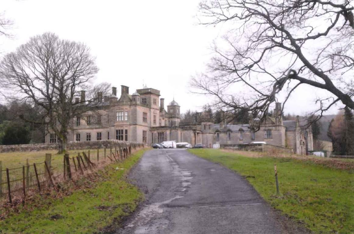 Falkland House, the former St Ninian's School.