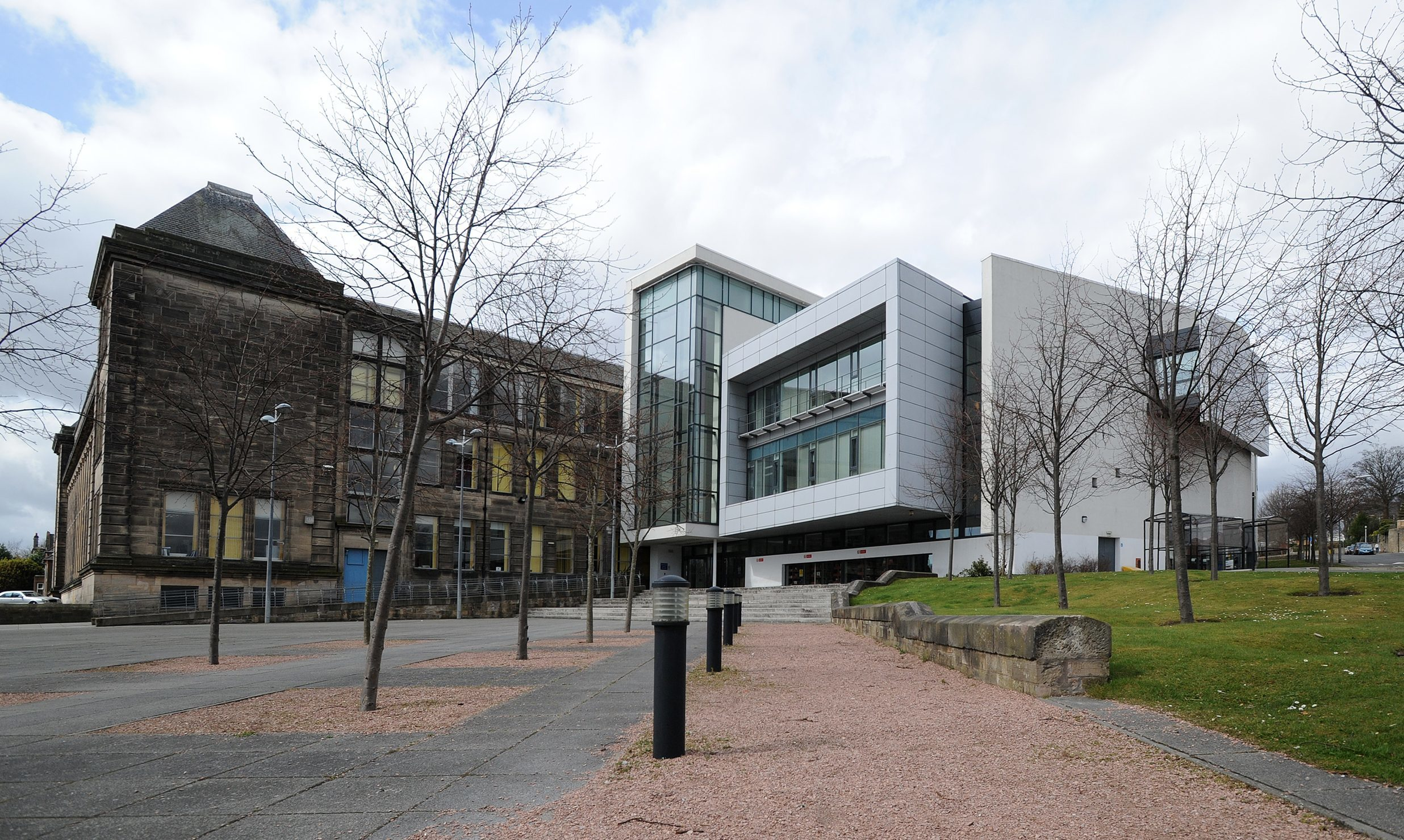 Fife College's St Brycedale campus in Kirkcaldy
