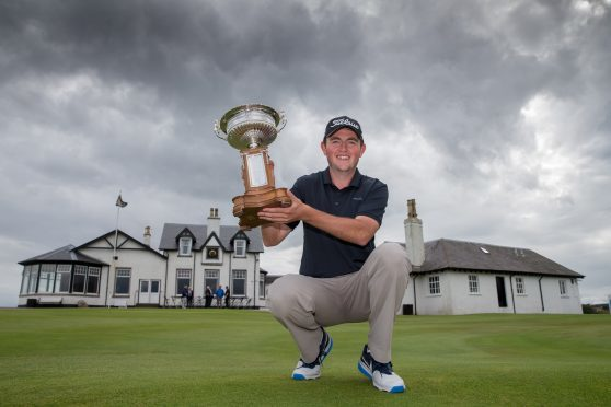 George stuns Scottish Amateur golf by claiming blue riband title