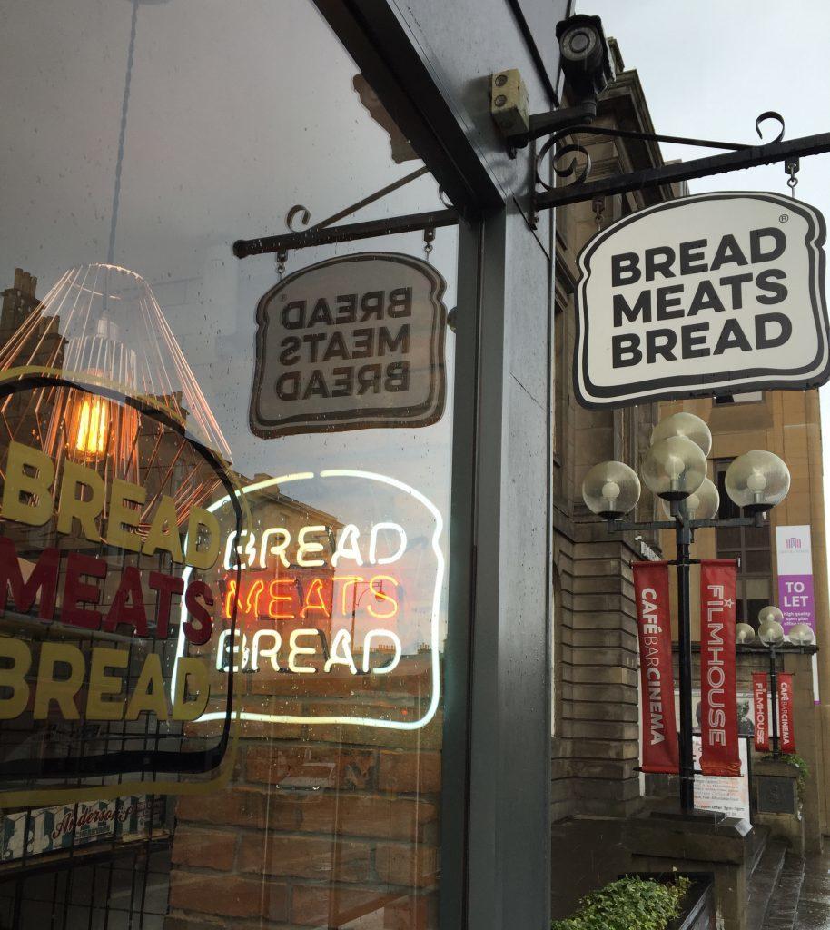 Bread Meats Bread on Lothian Road