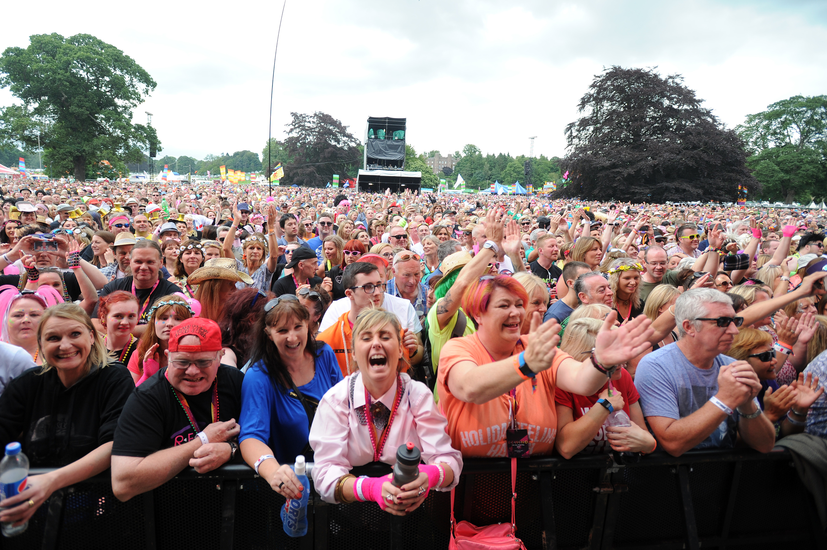 Rewind Festival has shown how successfully a large-scale music festival can work in the Scone Palace parklands.