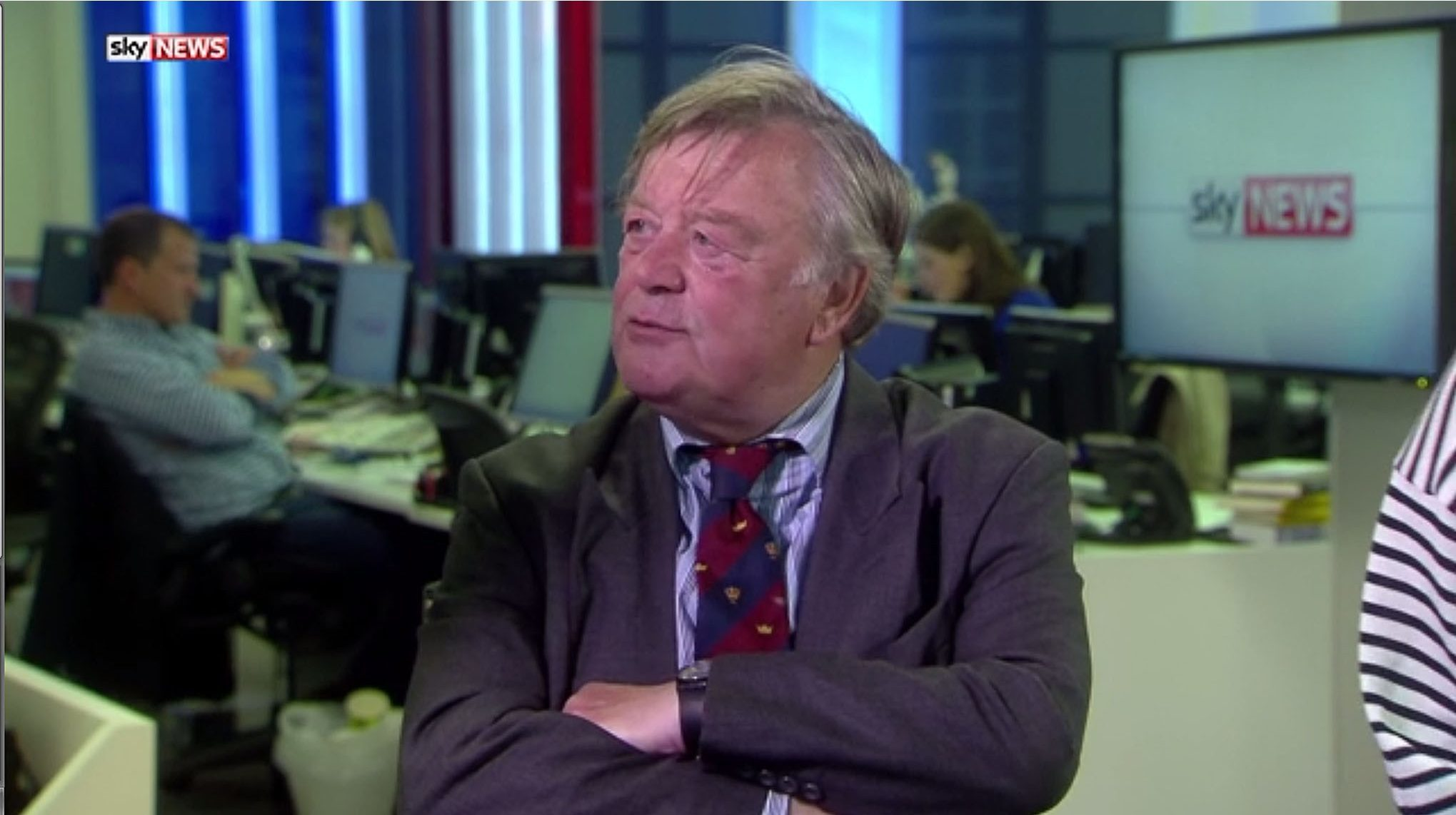 Former chancellor Ken Clarke ridiculed contenders for the Tory leadership, as voting begun in the first stage of the process to decide the UK's new Prime Minister.