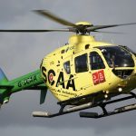 SCAA helicopter in near miss with glider in Perthshire skies