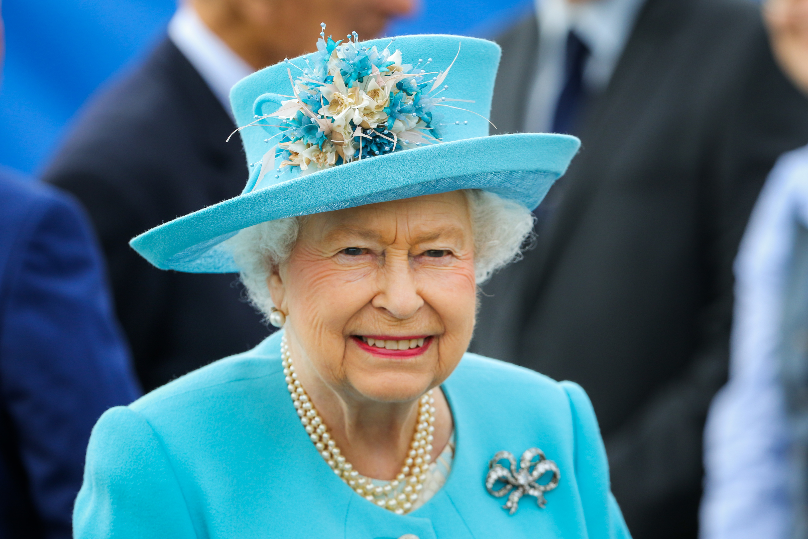 The Queen, pictured during her recent visit to Dundee.