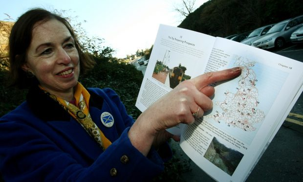 StARLink campaigner Jane Ann Liston is keen to see St Andrews restored to the rail network.
