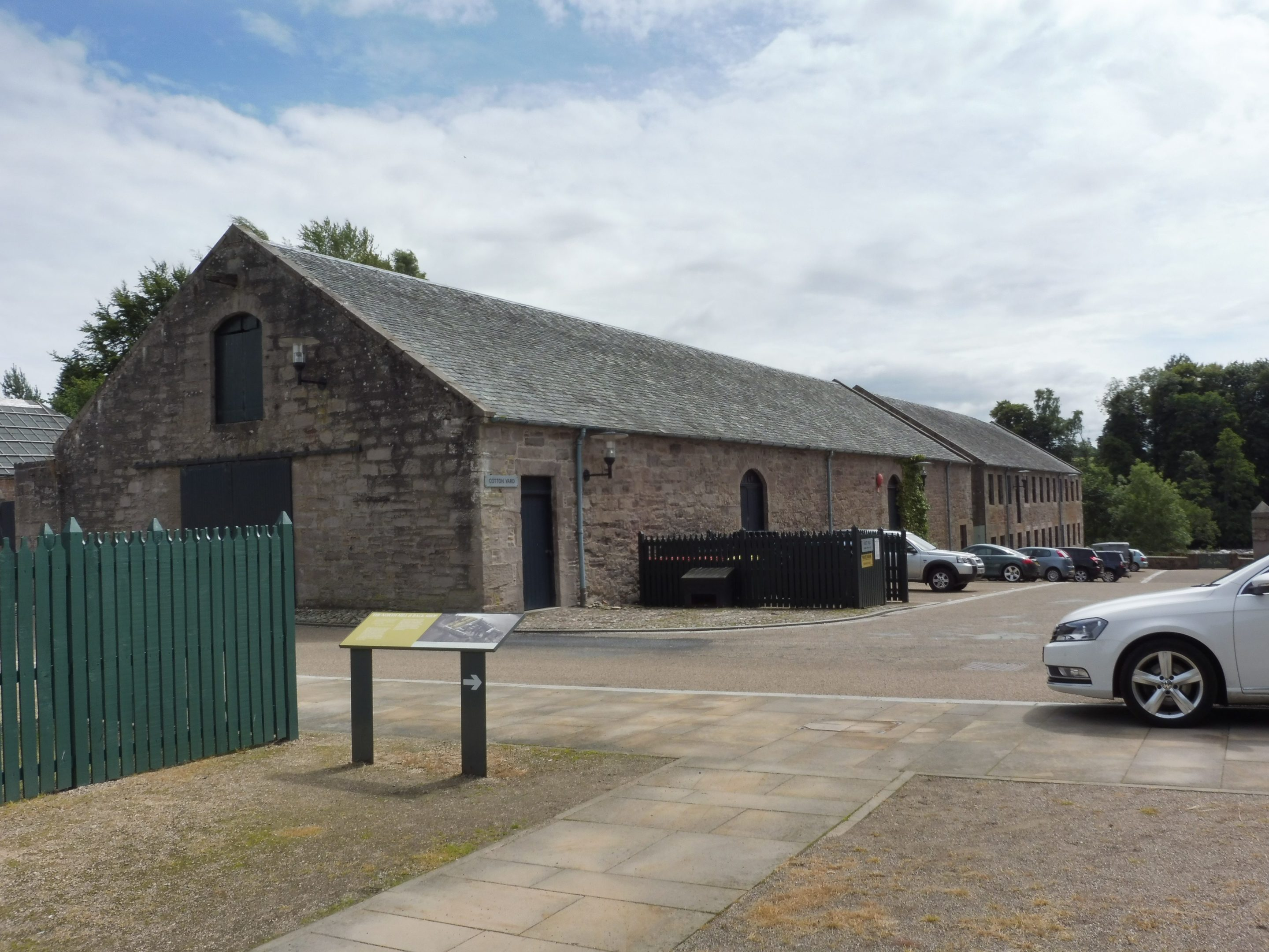 The Cotton Warehouse and Weaving Mill – two of the buildings looking for new uses at Stanley Mills.