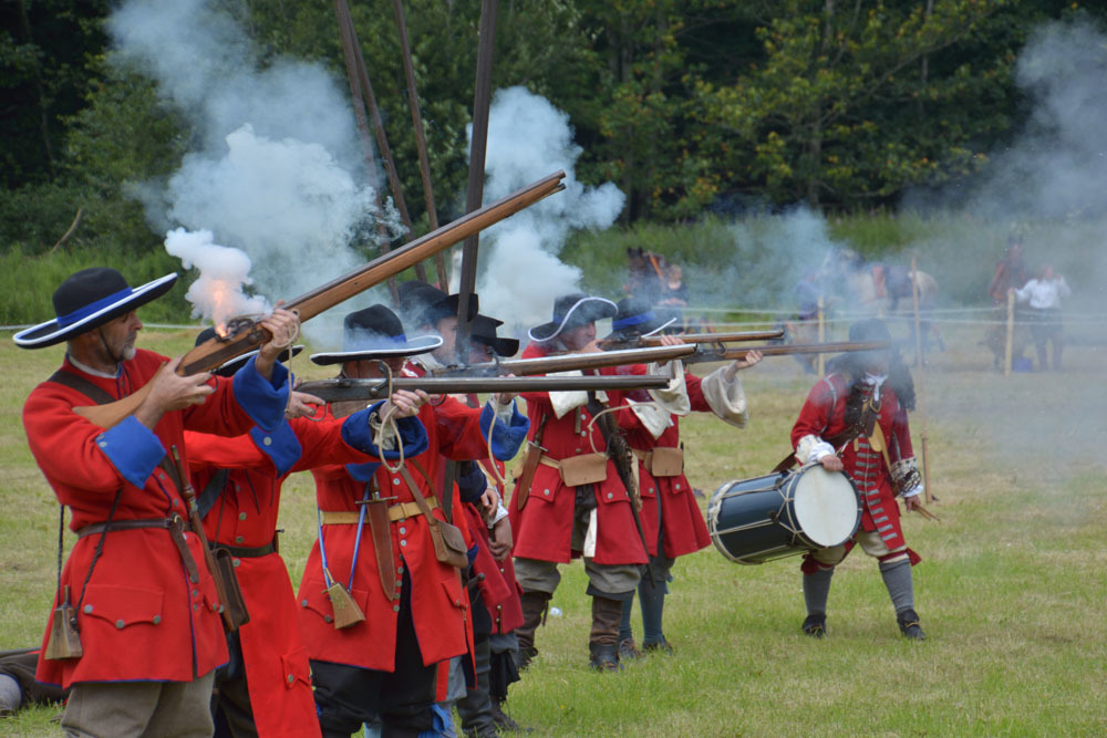 Soldiers of Killiecrankie re-enactment  in 2015.