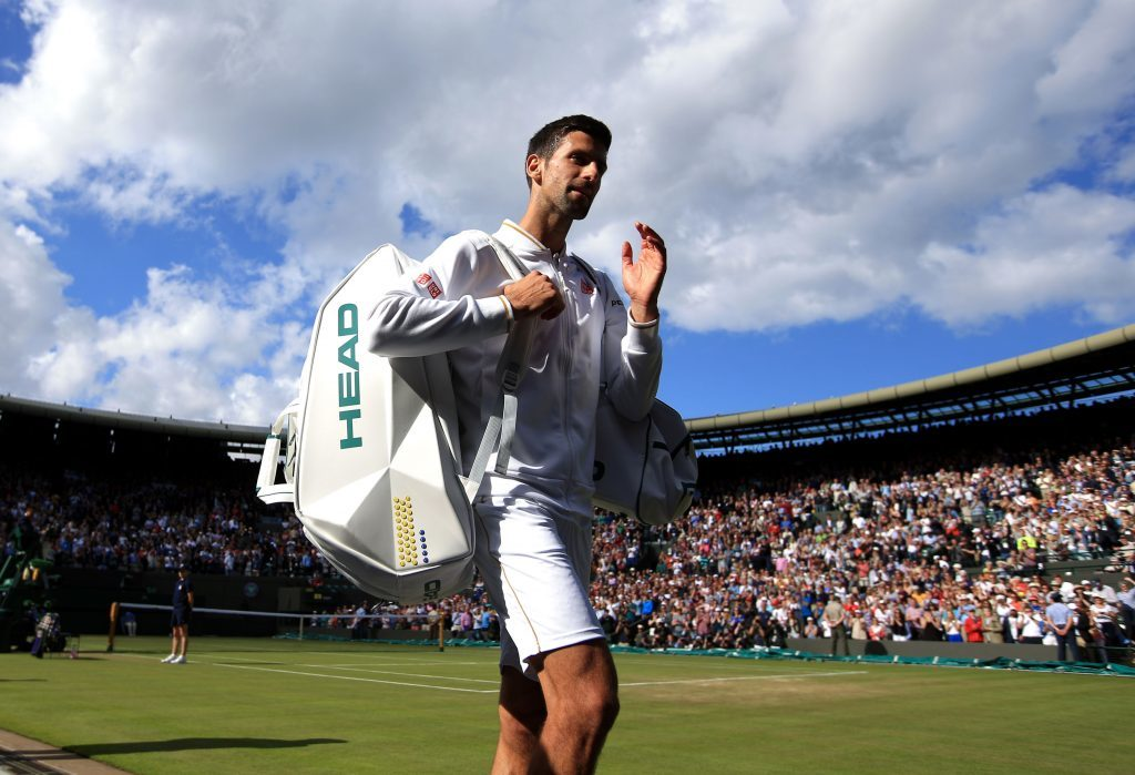 Top seed and defending champion Novak Djokovic bows out.