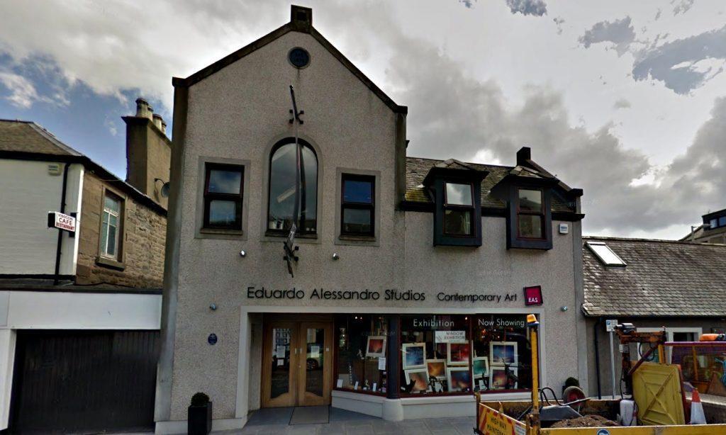Eduardo Alessandro Studios in Broughty Ferry.