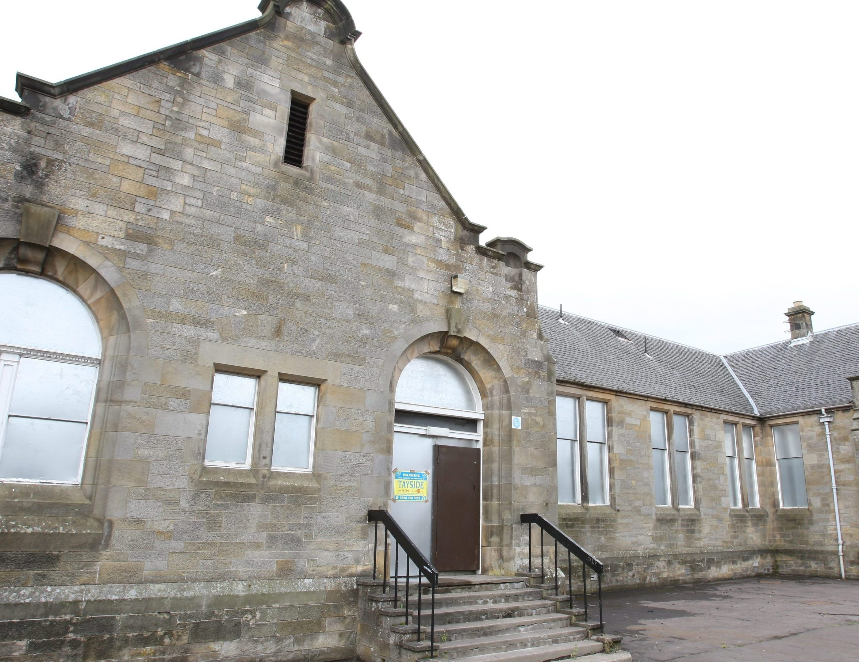 The former Kinross High School site.