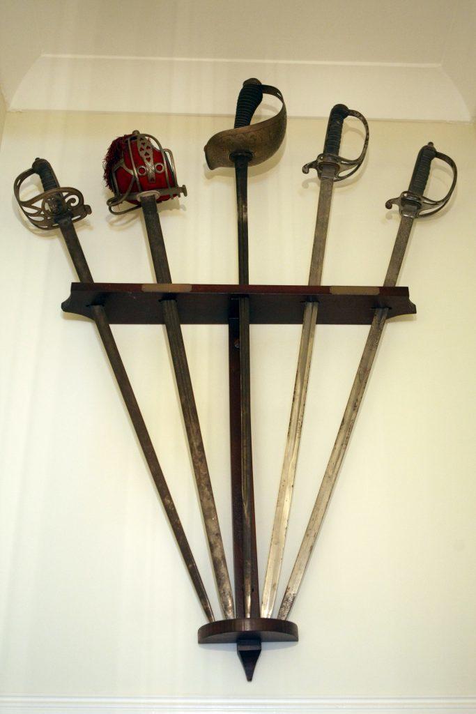 George Pagan and George Osbornes ceremonial swords