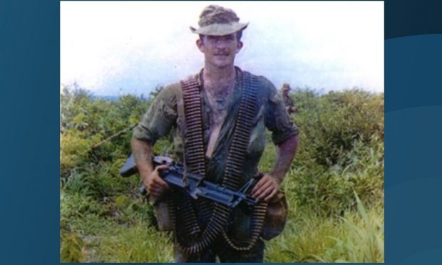 Lance Corporal Robert Buchan.