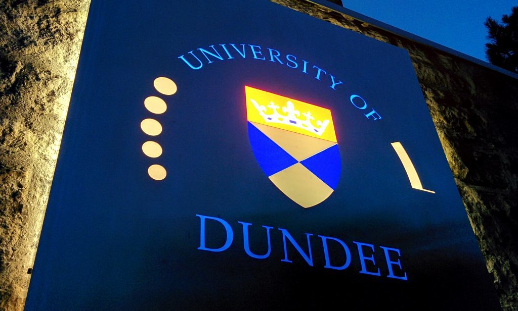 Dundee University is 50 years old