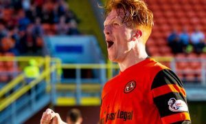 20/07/16    DUNDEE UNITED v COWDENBEATH    TANNADICE - DUNDEE    Dundee United's Simon Murray celebrates scoring his second goal