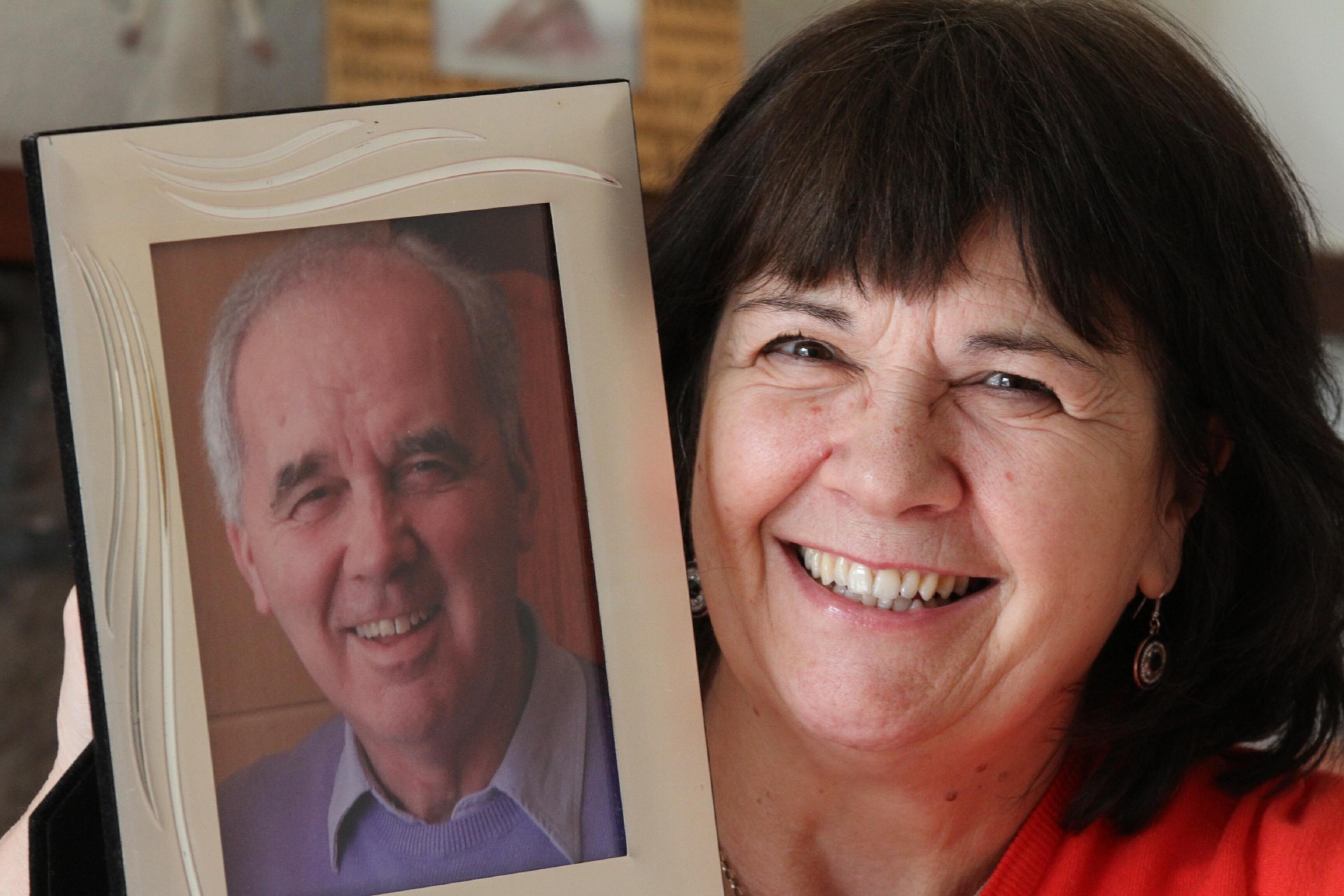 Amanda Kopel, whose footballer husband Frank had dementia.