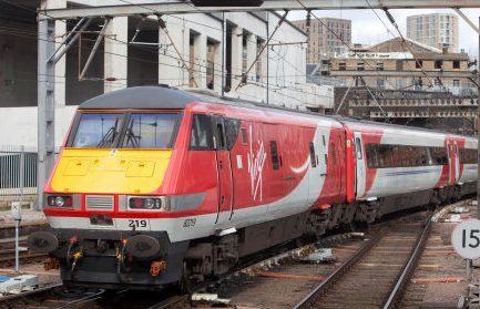 A Virgin Trains East Coast service