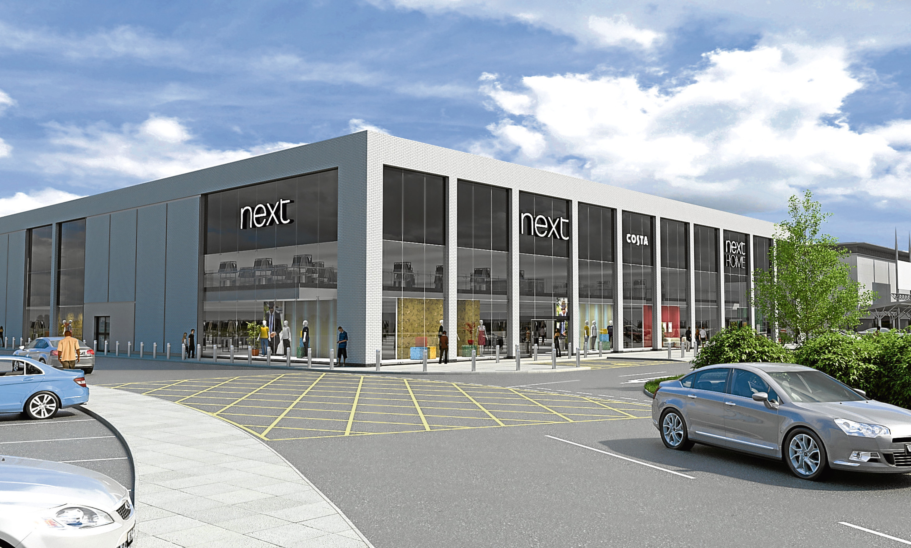 Councillors rejected Next's proposals for a Kingsway West store at a heated meeting on Monday.
