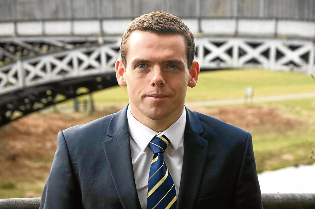 Scottish Conservative Shadow Secretary for Justice Douglas Ross