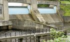Hydro power in action at Pitlochry Dam.