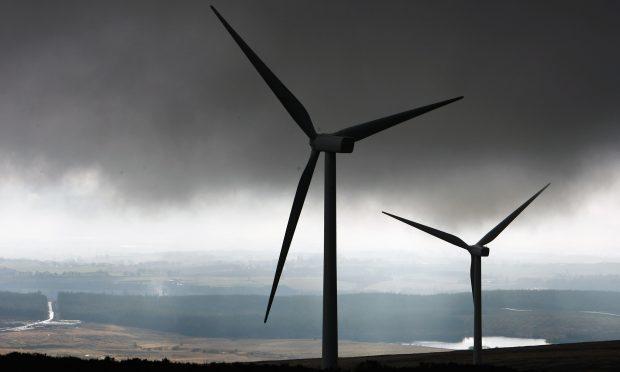 Braes of Doune wind farm.