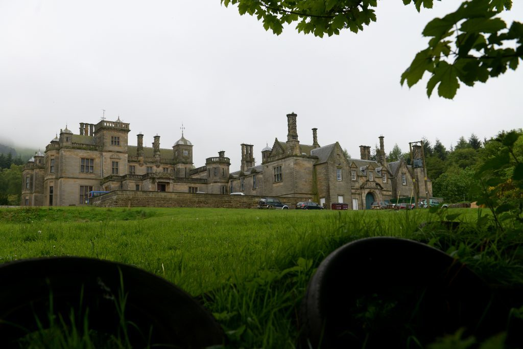 The former St Ninians School at Falkland in Fife