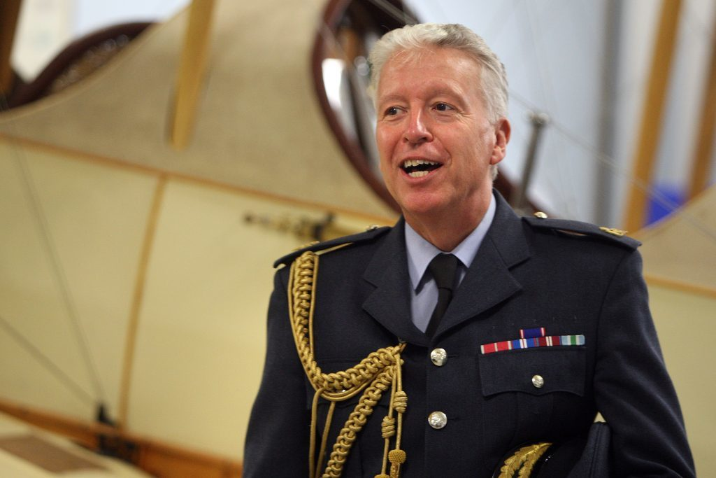 Air Marshal Sir David Walker.