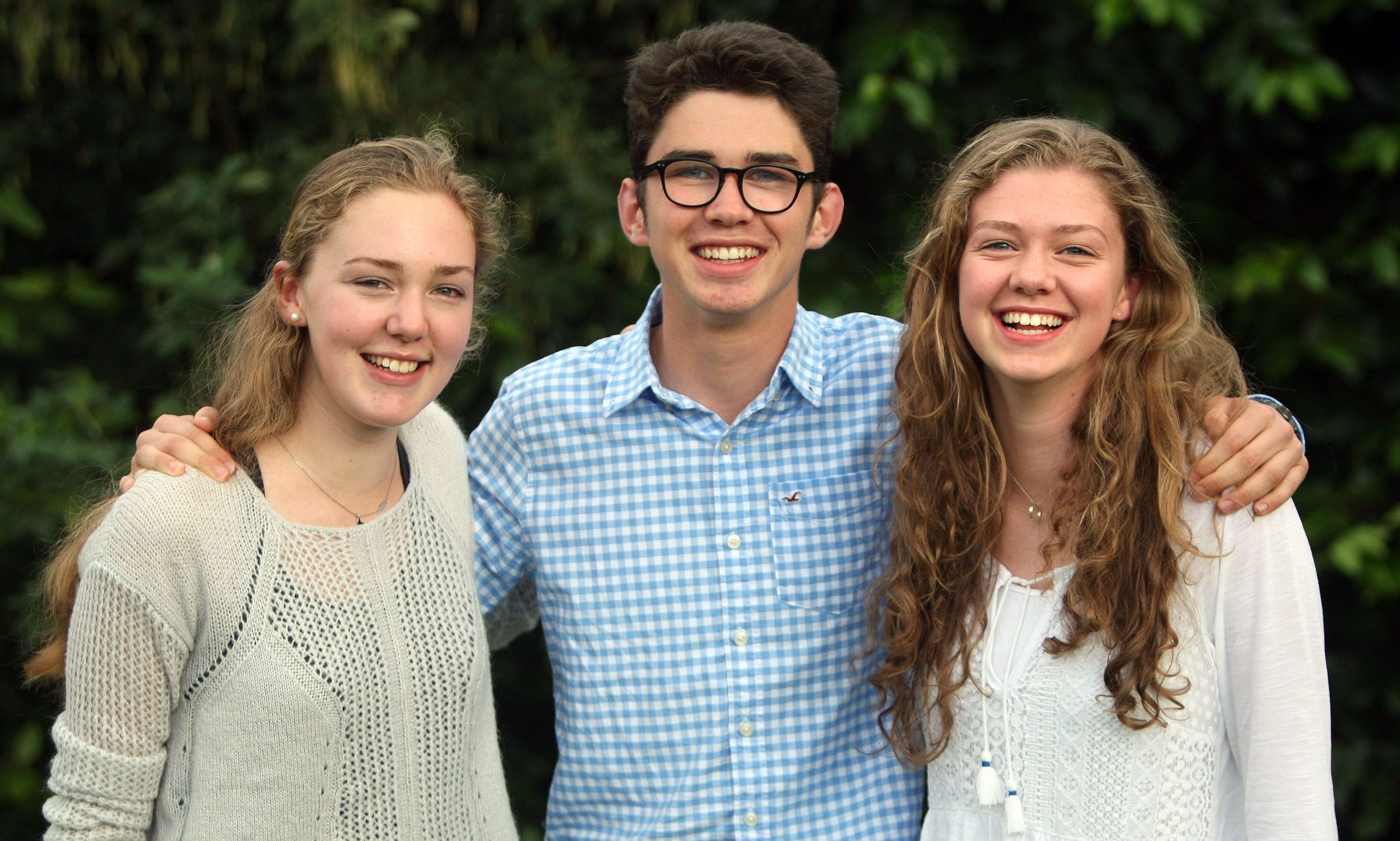 Kristin, Gregor and Alexandra.