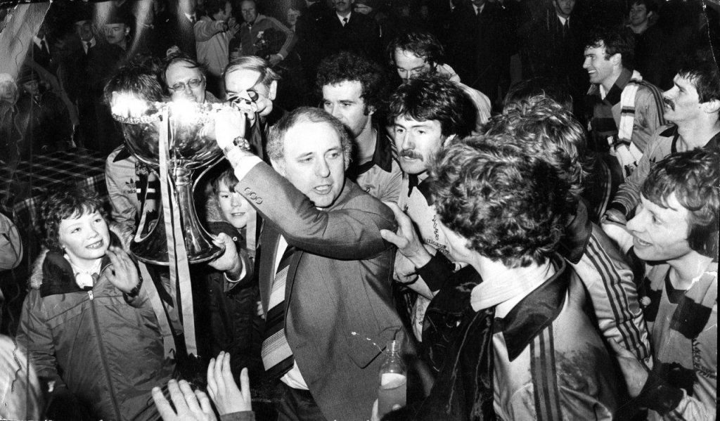 Dundee United League Cup win in 1979