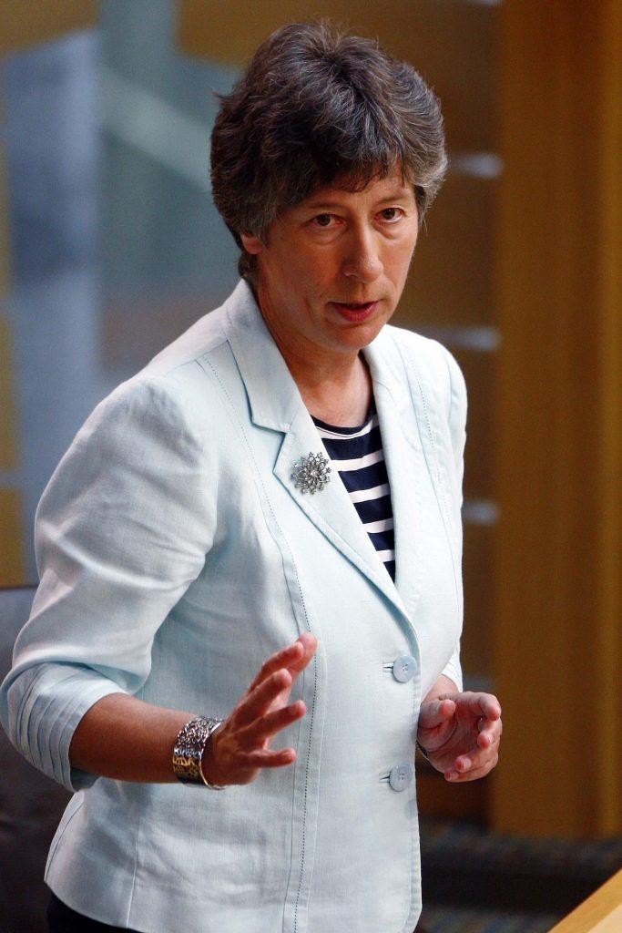 Liz Smith MSP, speaking during the Scottish Conservative debate on Named person legislation in June.