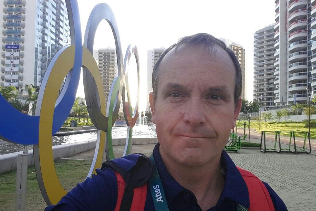 Dr Elliott in Rio.