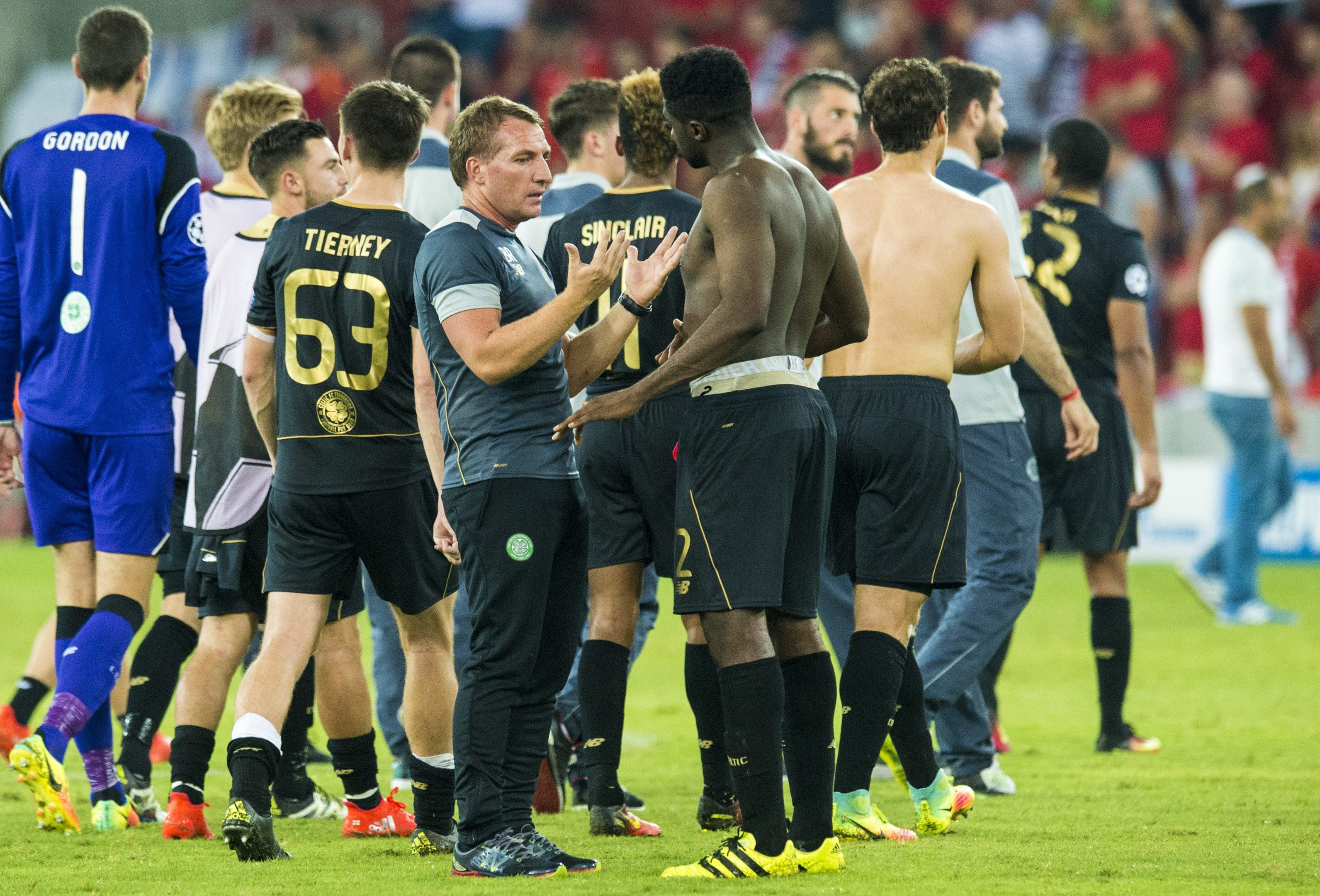 A great night for Brendan Rodgers and his players.