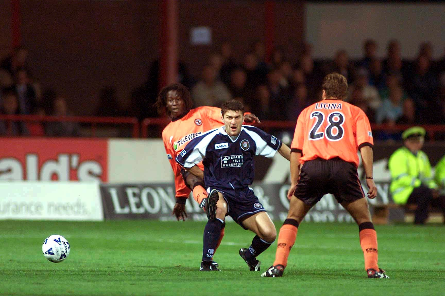 Scenes like this, from a derby in the 1999/00 season, very nearly became a thing of the past.