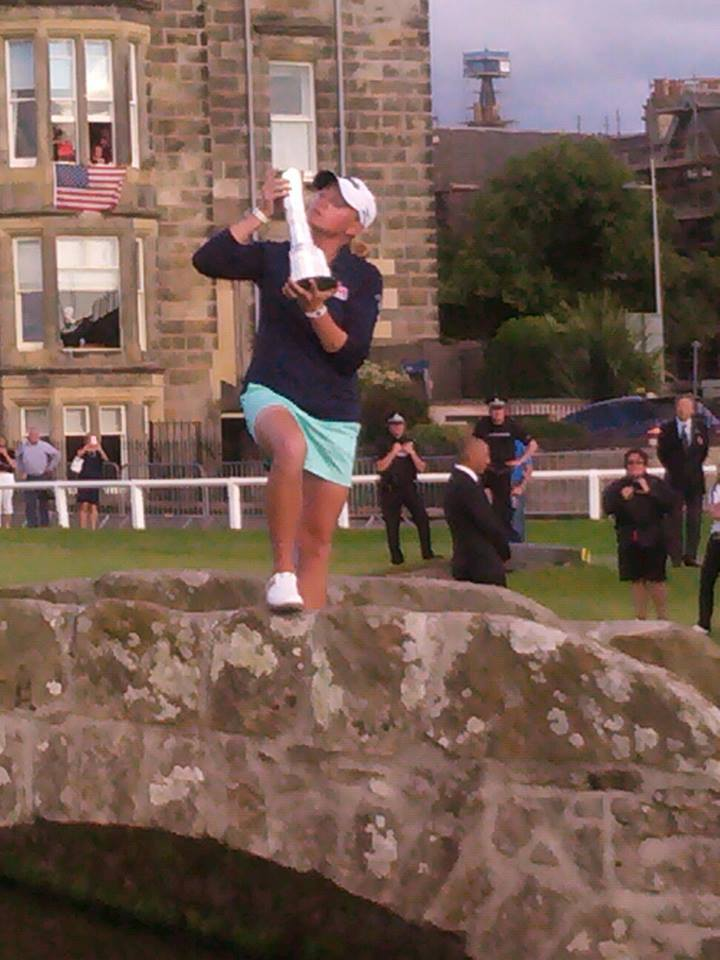 Stacey Lewis wins the Women's Open at St Andrews in 2013