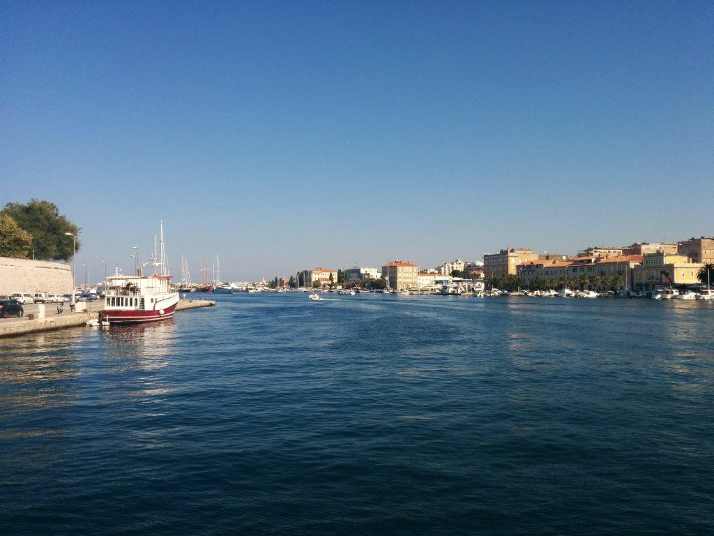 Waterfront in Zadar