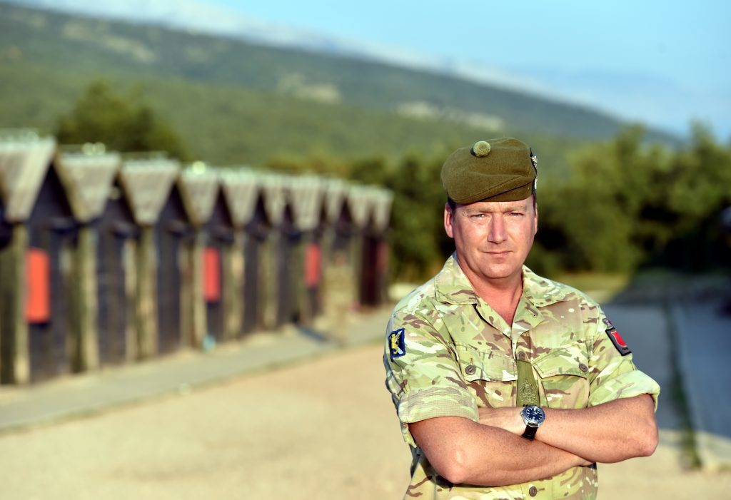 Cmd Sergeant Major Jason Dickson.