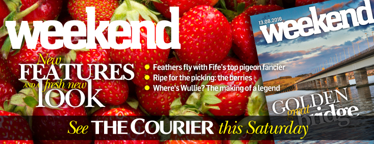 Get stuck in to the new-look Courier Weekend magazine.