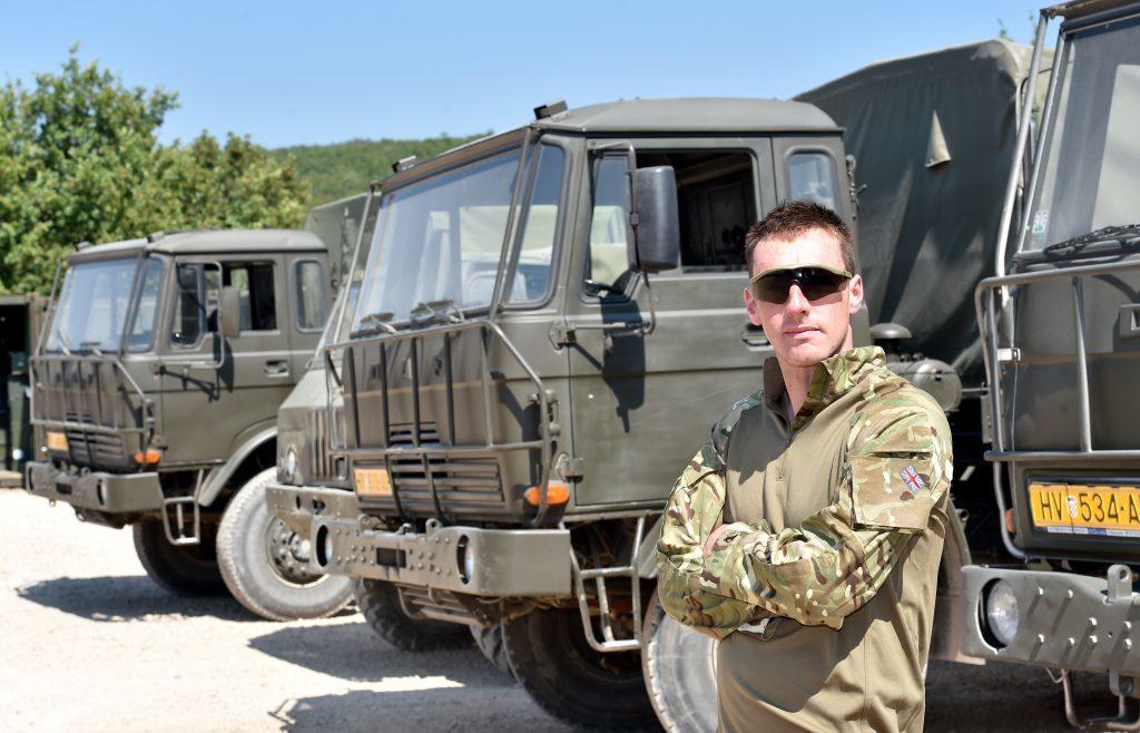 Private Colin 'Mitch' Mitchelson.