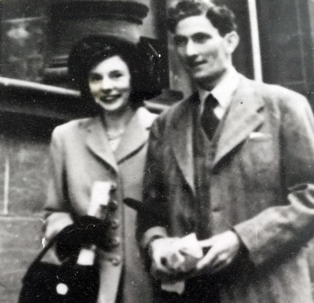Phyllis and Douglas Hill raised a family of six in Dundee.