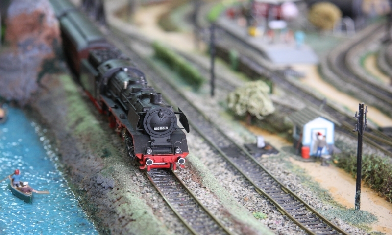 Traditional toys like the simple train set have been overlooked as big brands cash in