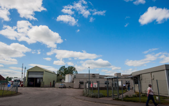 The 2 Sisters Food Group factory in Coupar Angus.