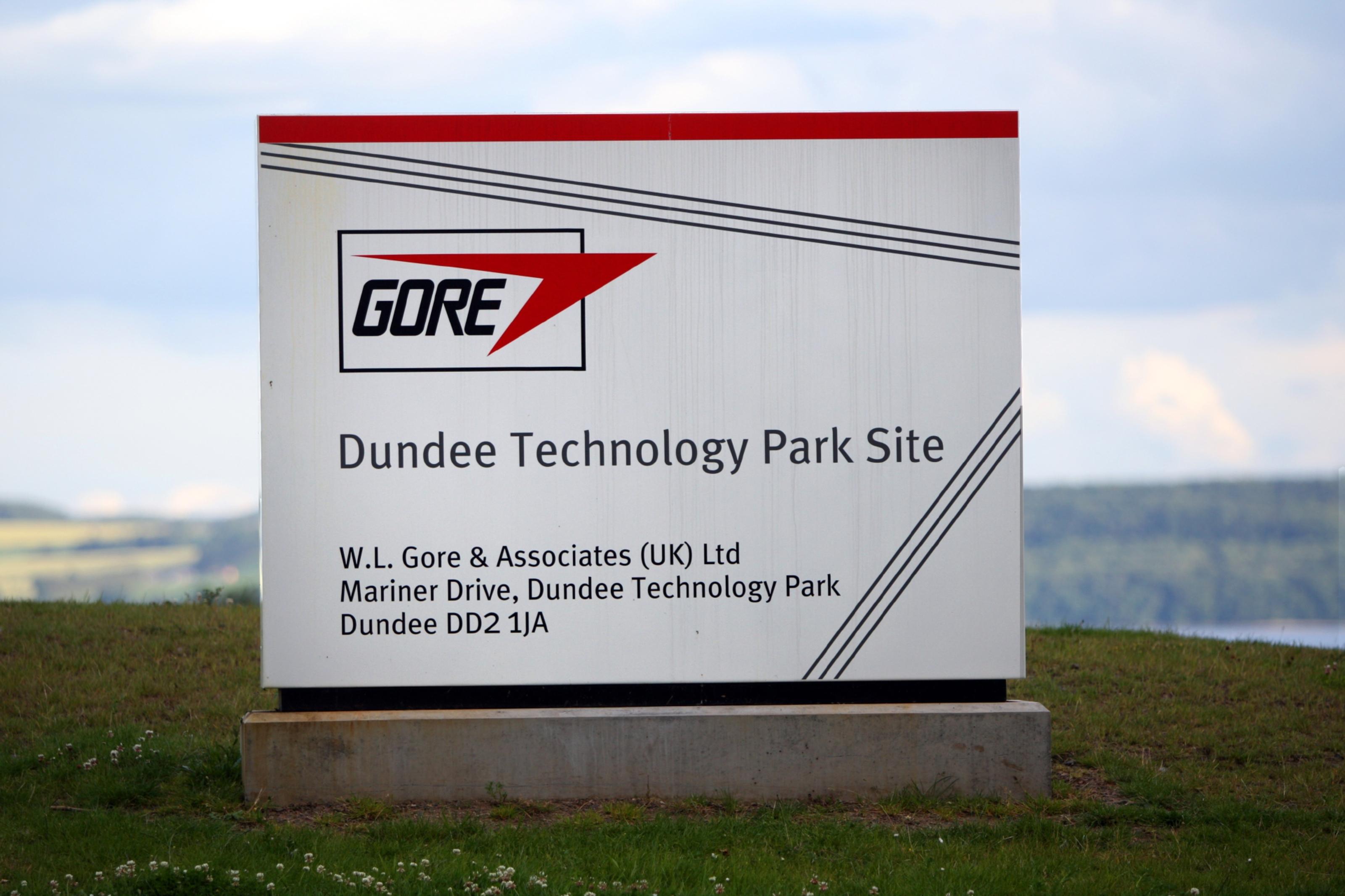 WL Gore & Associates (UK) Ltd, site at Mariner Drive, Dundee Technology Park.