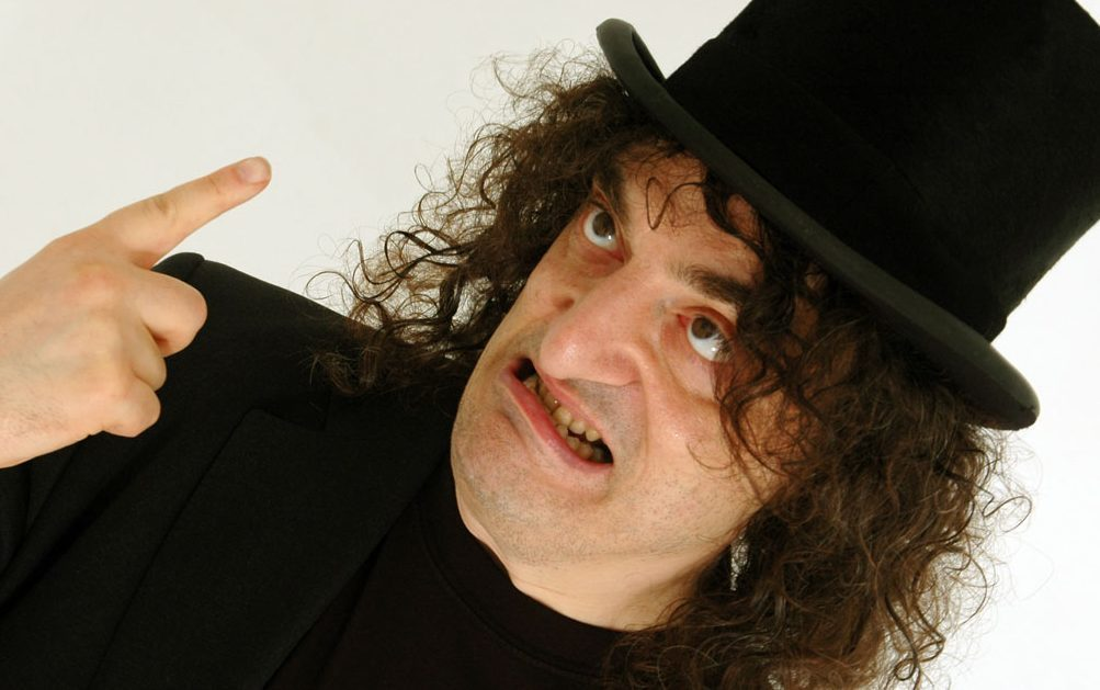 The ever uncompromising Jerry Sadowitz