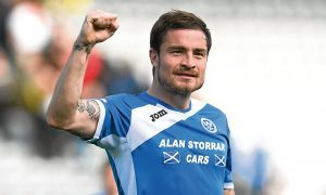St Johnstone's Paul Paton at full-time.