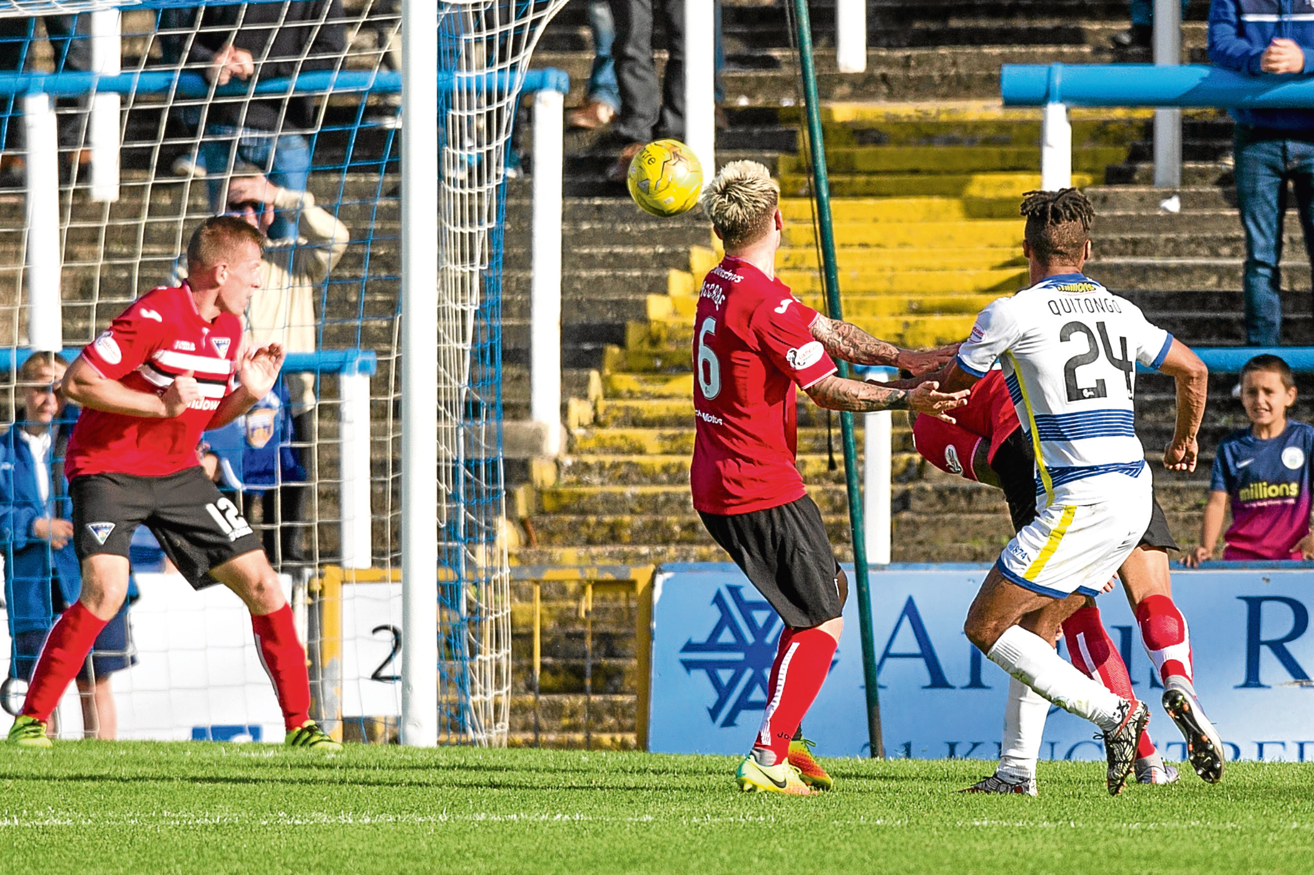 A poor second half meant Dunfermline slumed to another defeat.