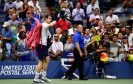 NEW YORK, NY - SEPTEMBER 07:  Andy Murray of Great Britain walks off of the court after being defeated by Kei Nishikori of Japan during their Men's Singles Quarterfinal match on Day Ten of the 2016 US Open at the USTA Billie Jean King National Tennis Center on September 7, 2016 in the Flushing neighborhood of the Queens borough of New York City.  (Photo by Mike Hewitt/Getty Images)