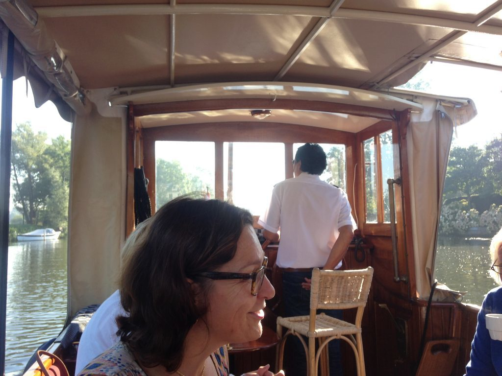 Boat trip on the Vecht.